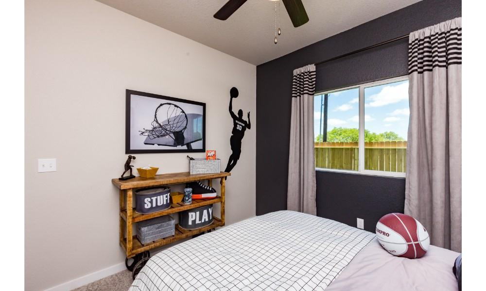Bedroom featured in the Bluebonnet By Hogan Homes in Corpus Christi, TX