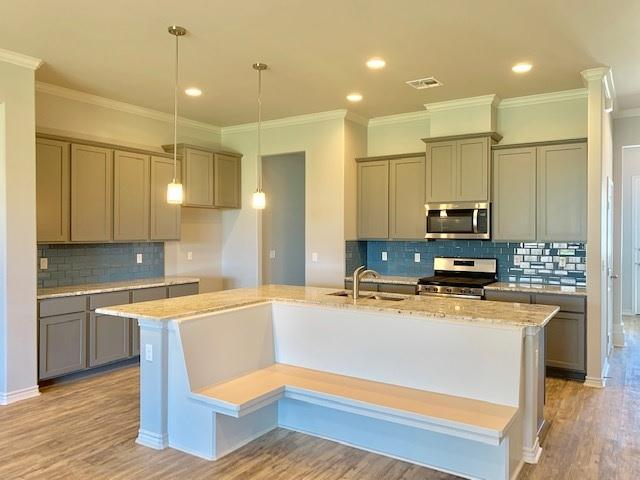 Kitchen featured in the Egret By Hogan Homes in Corpus Christi, TX