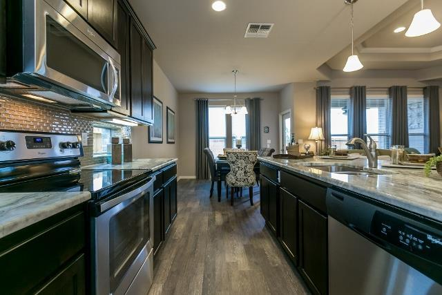Kitchen featured in the Blair By Hogan Homes in Corpus Christi, TX