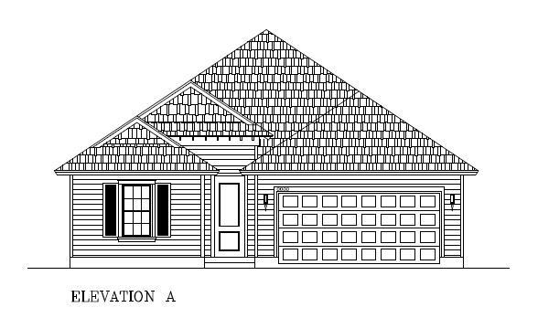 Exterior featured in the Blue Jay By Hogan Homes in Corpus Christi, TX