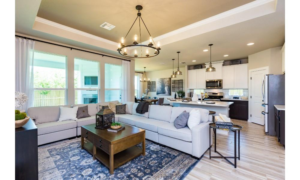 Living Area featured in the Blue Jay By Hogan Homes in Corpus Christi, TX