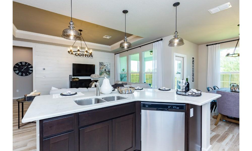 Kitchen featured in the Blue Jay By Hogan Homes in Corpus Christi, TX