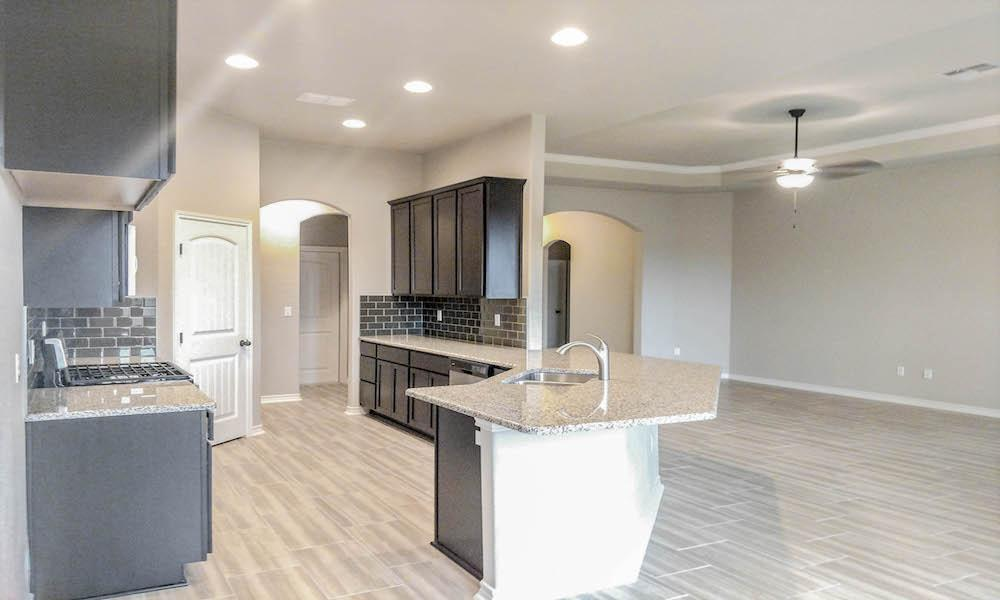Kitchen featured in the Kingfisher By Hogan Homes in Corpus Christi, TX