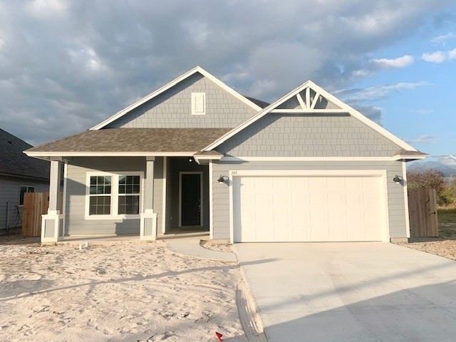 Exterior featured in the Hummingbird By Hogan Homes in Corpus Christi, TX