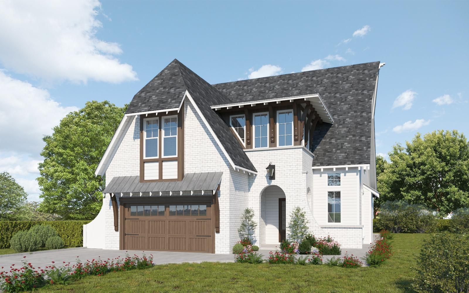 Exterior featured in The Barkley By Holland Homes in Auburn-Opelika, AL