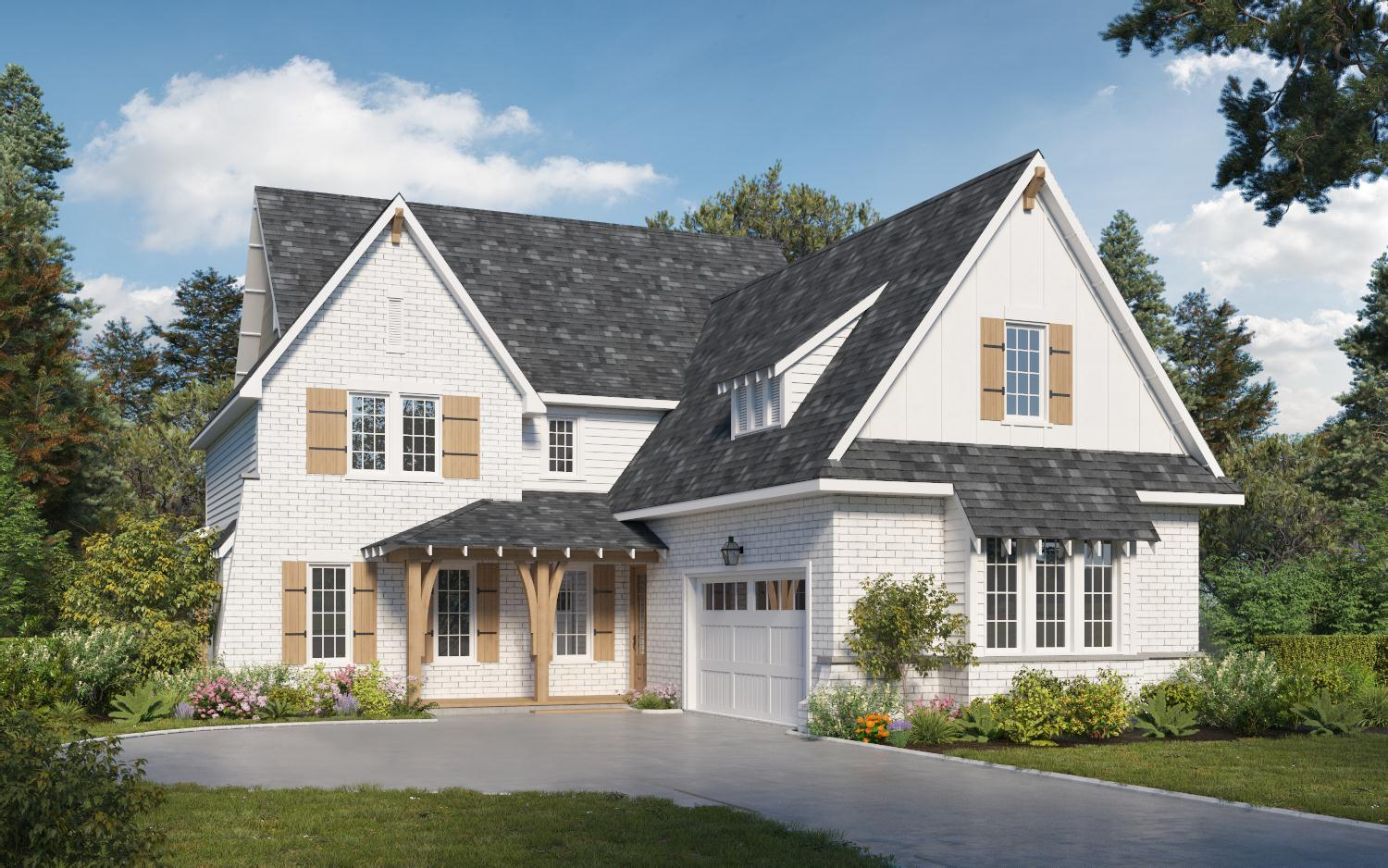 Exterior featured in The Azalea Rose By Holland Homes in Birmingham, AL