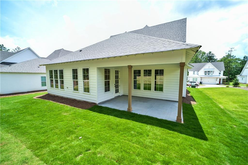 Exterior featured in The Pinedale By Holland Homes in Auburn-Opelika, AL