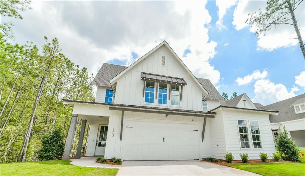 Exterior featured in The Pinehurst By Holland Homes in Auburn-Opelika, AL