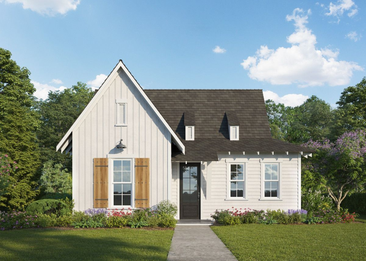 Exterior featured in The Tate B By Holland Homes in Auburn-Opelika, AL