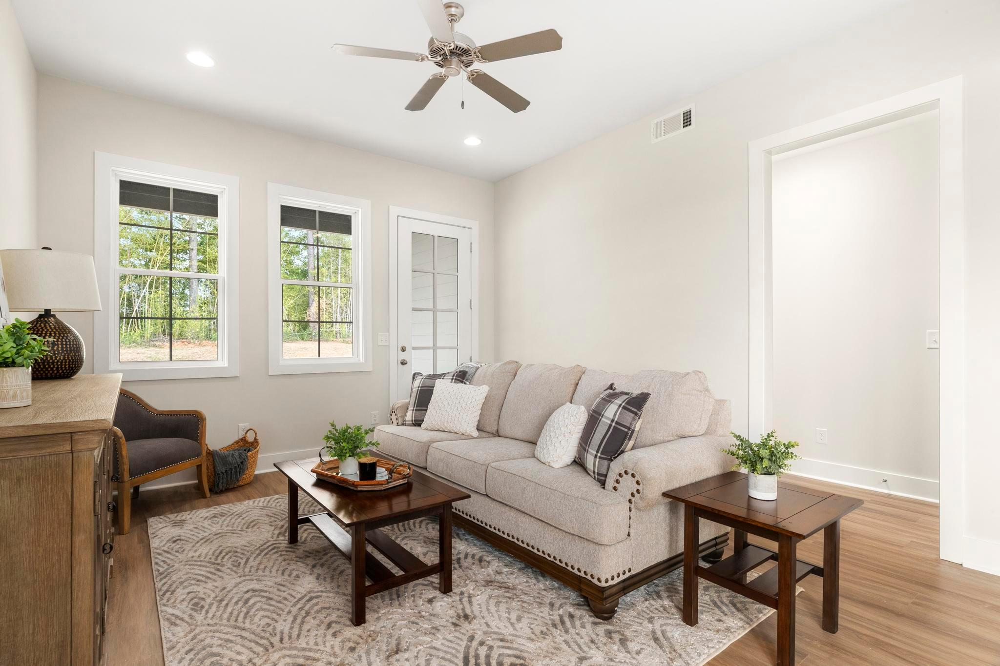 Living Area featured in the 3 Bedroom Interior Unit By Holland Homes in Auburn-Opelika, AL