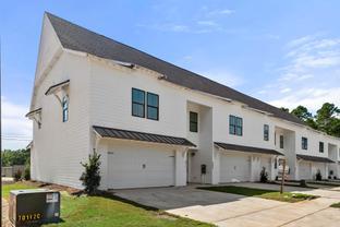 Townhome - 1 Car Exterior Unit - Owens Crossing: Auburn, Alabama - Holland Homes
