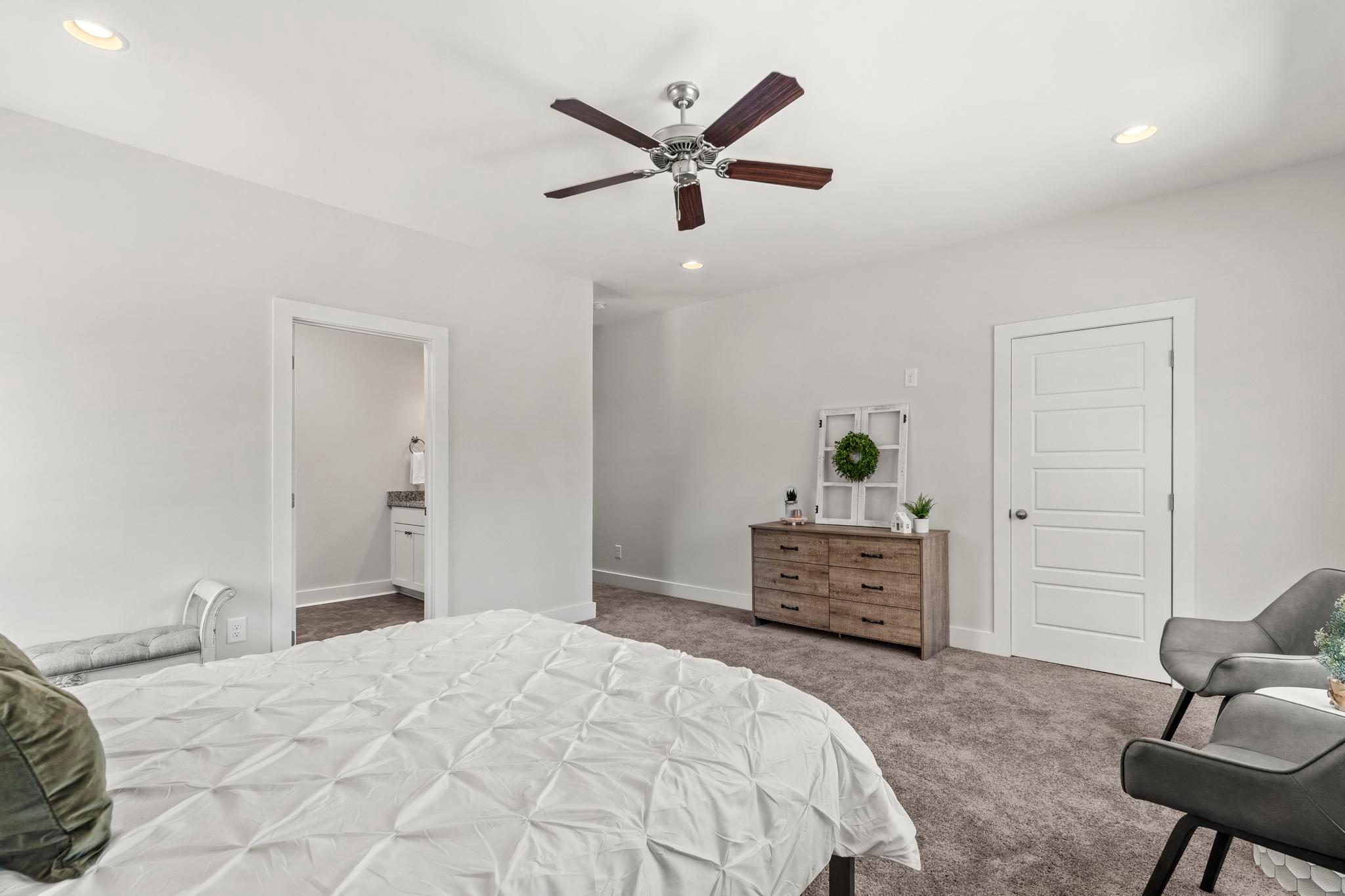 Bedroom featured in the Townhome - 1 Car Interior Unit w/ Office By Holland Homes