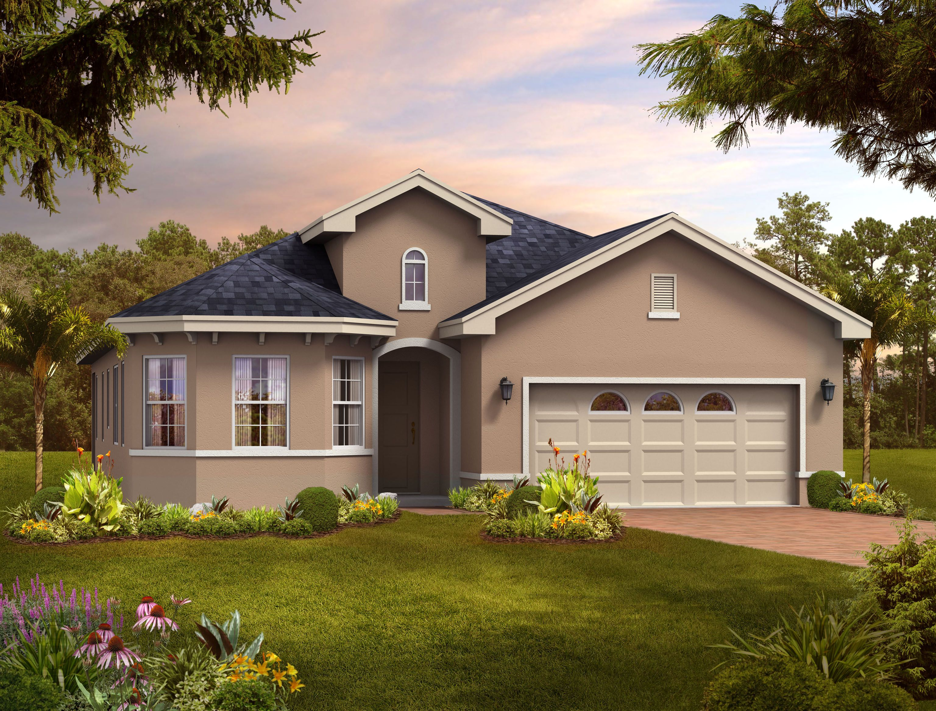 Exterior featured in the Model A Bonus By Home Dynamics Corporation in Orlando, FL
