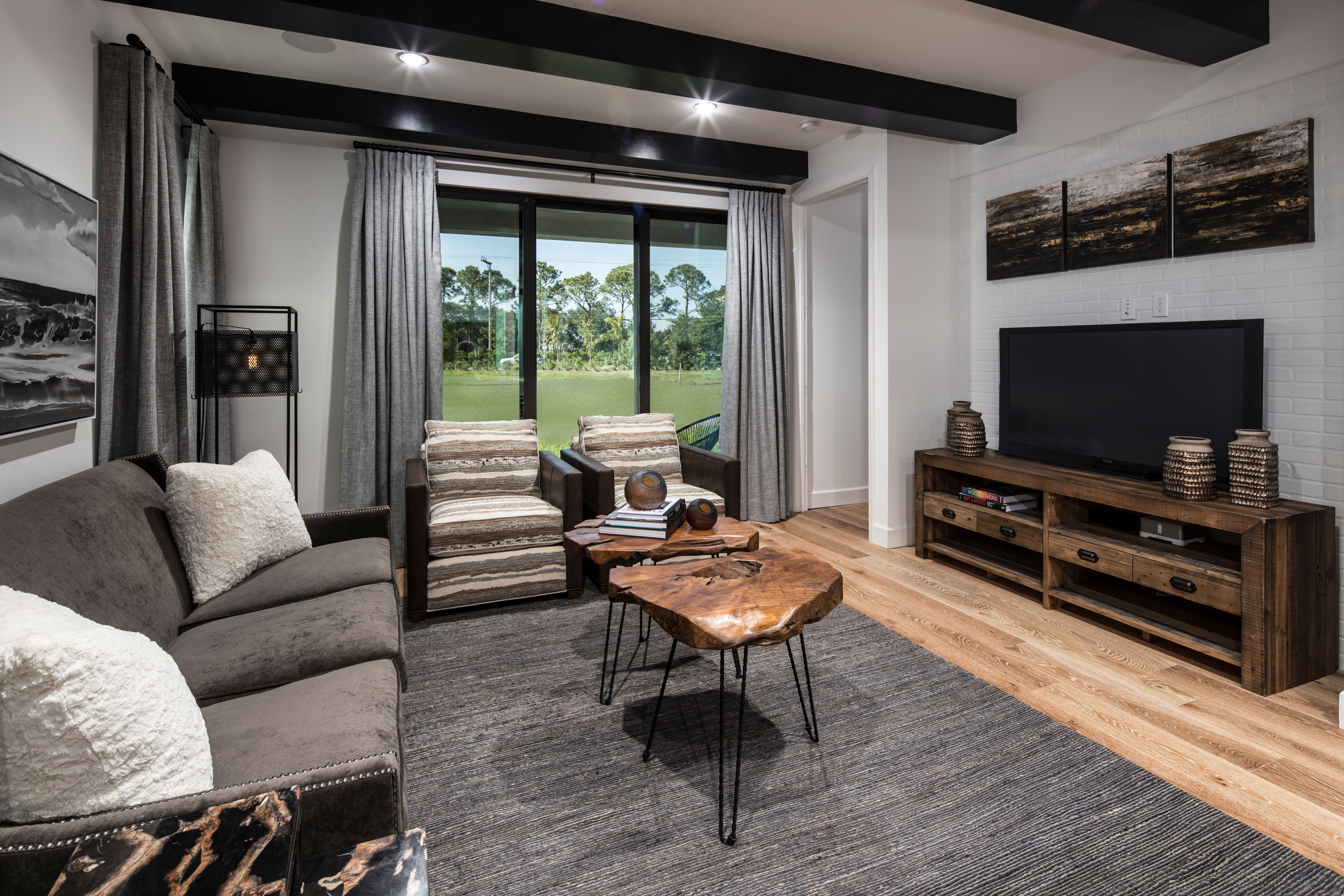Living Area featured in the Model A1 By Home Dynamics - Silverleaf in Palm Beach County, FL