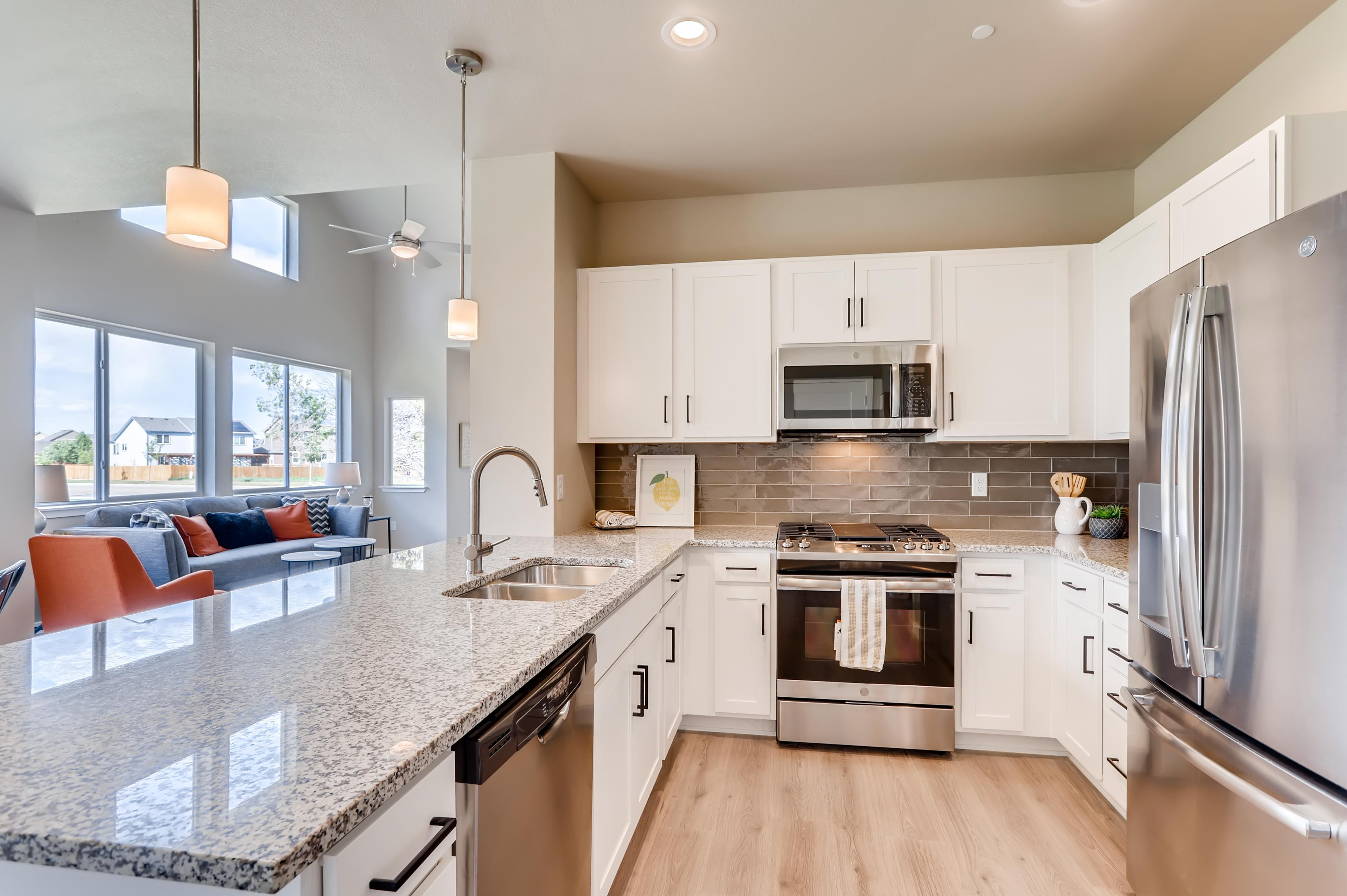 Kitchen featured in The Linden By Townhomes on Vine in Fort Collins-Loveland, CO