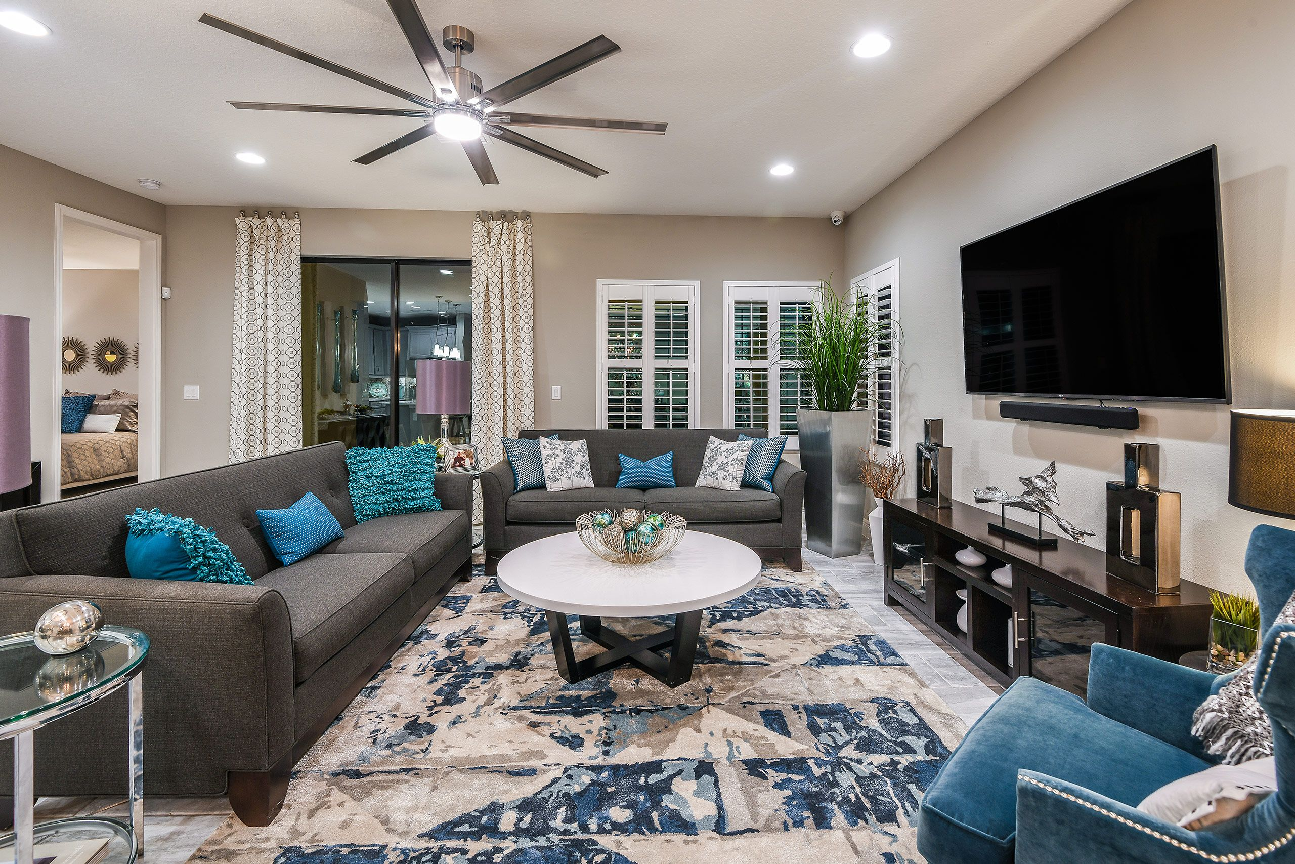 Living Area featured in the Sandpiper By Homes by WestBay in Tampa-St. Petersburg, FL