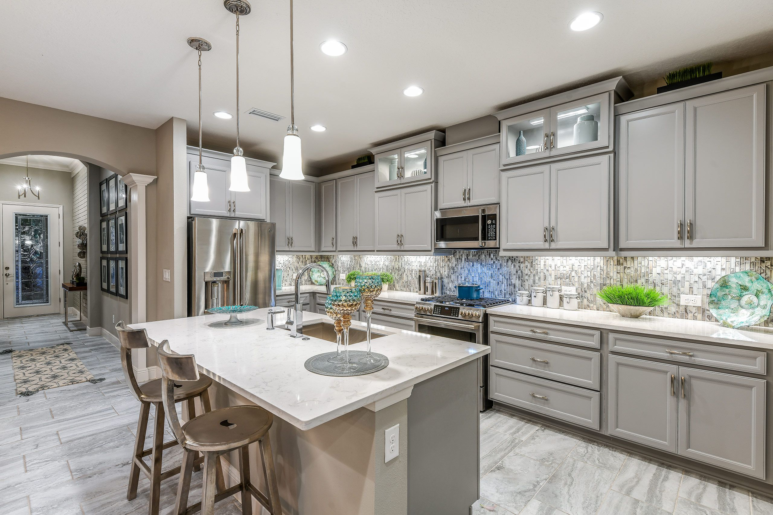 Kitchen featured in the Sandpiper By Homes by WestBay in Tampa-St. Petersburg, FL