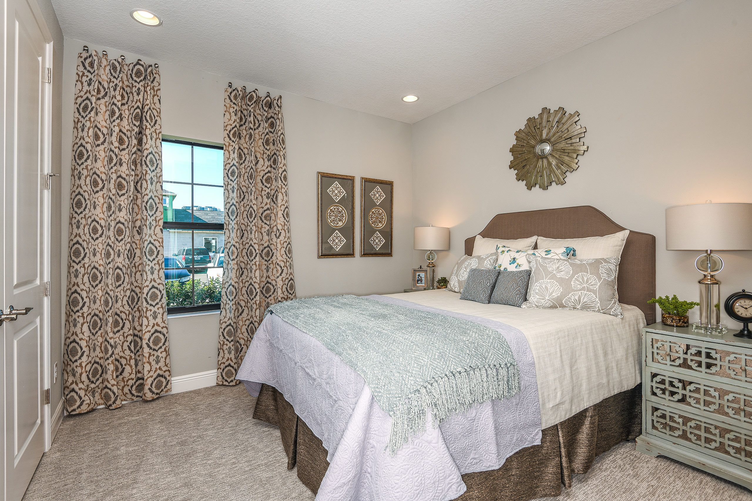 Bedroom featured in the Sandpiper By Homes by WestBay in Tampa-St. Petersburg, FL