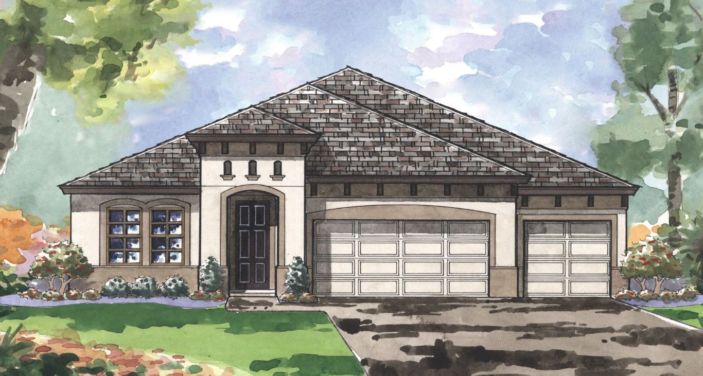 Exterior featured in the Swann III By Homes by WestBay in Sarasota-Bradenton, FL