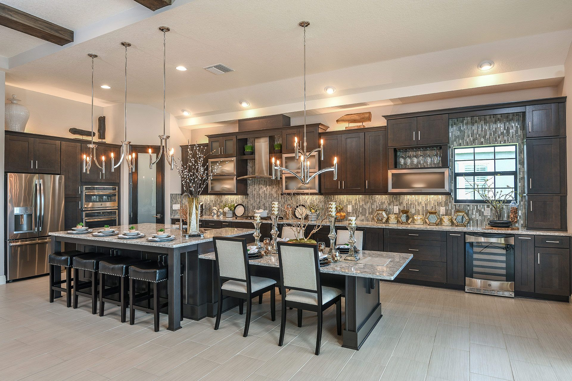 Kitchen featured in the Biscayne II By Homes by WestBay in Tampa-St. Petersburg, FL