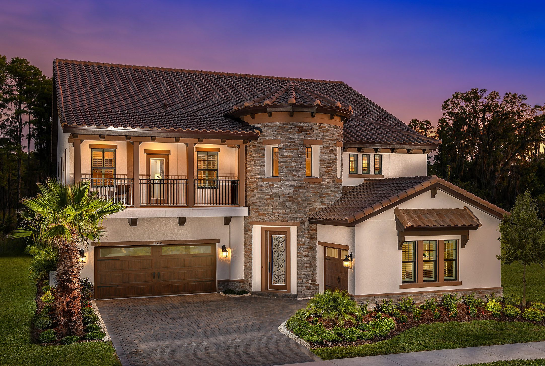 'Pristine Lake Preserve' by Homes by WestBay in Tampa-St. Petersburg
