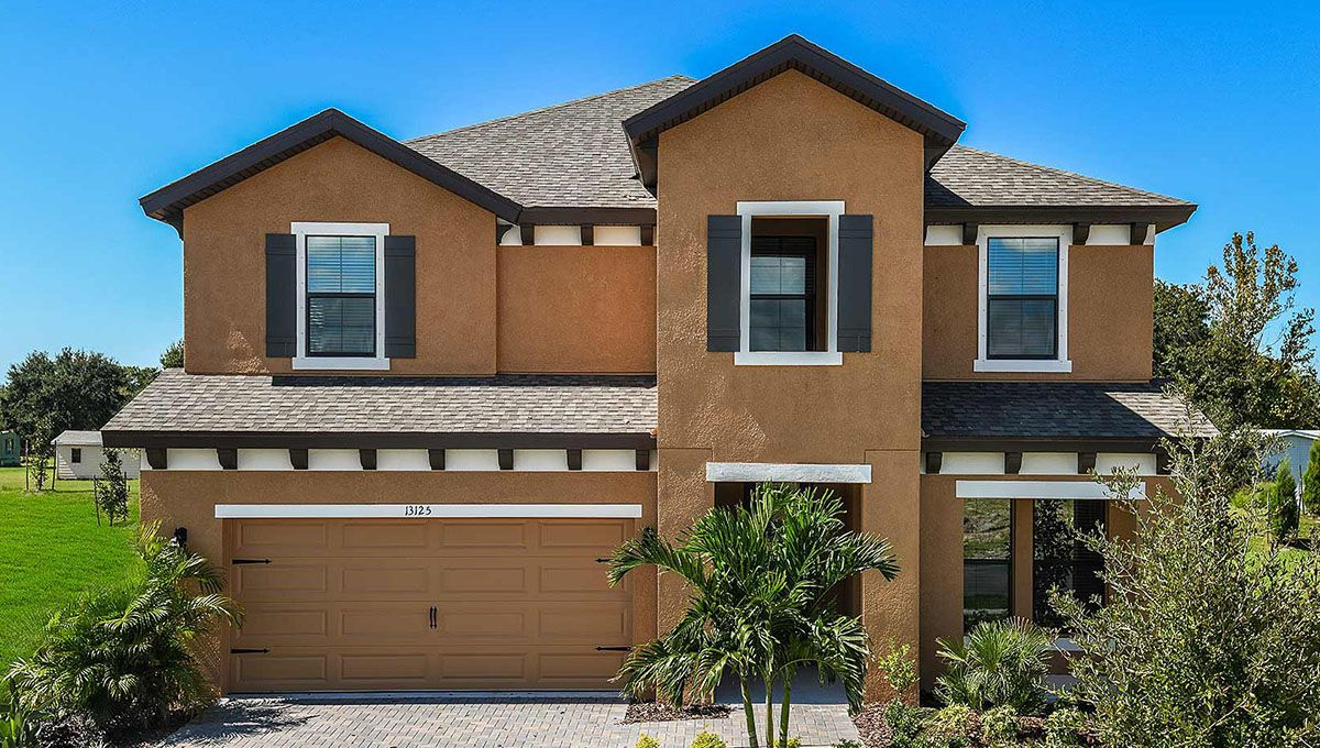 Exterior featured in the Avocet II By Homes by WestBay in Tampa-St. Petersburg, FL