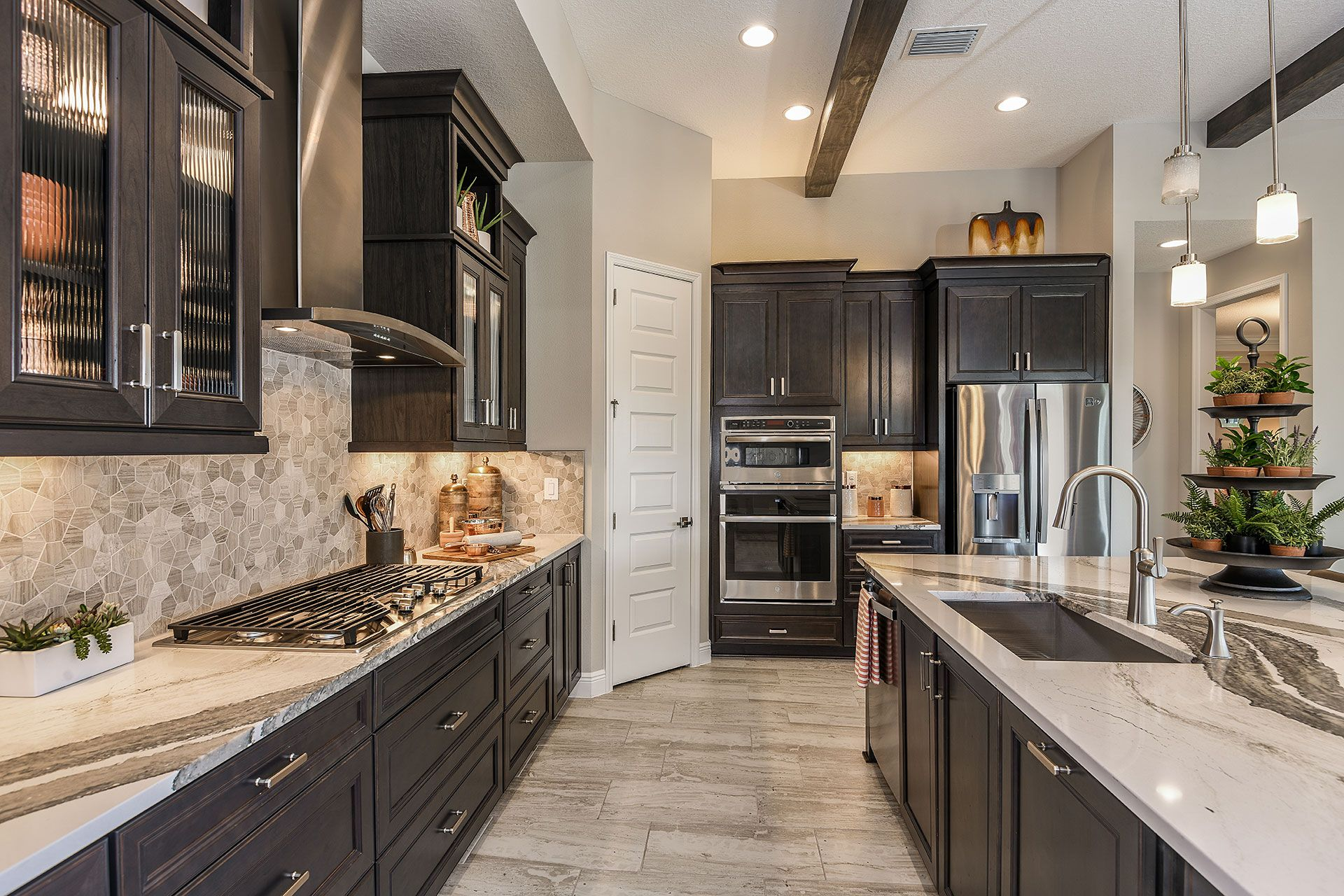 Kitchen featured in the Swann IV By Homes by WestBay in Tampa-St. Petersburg, FL