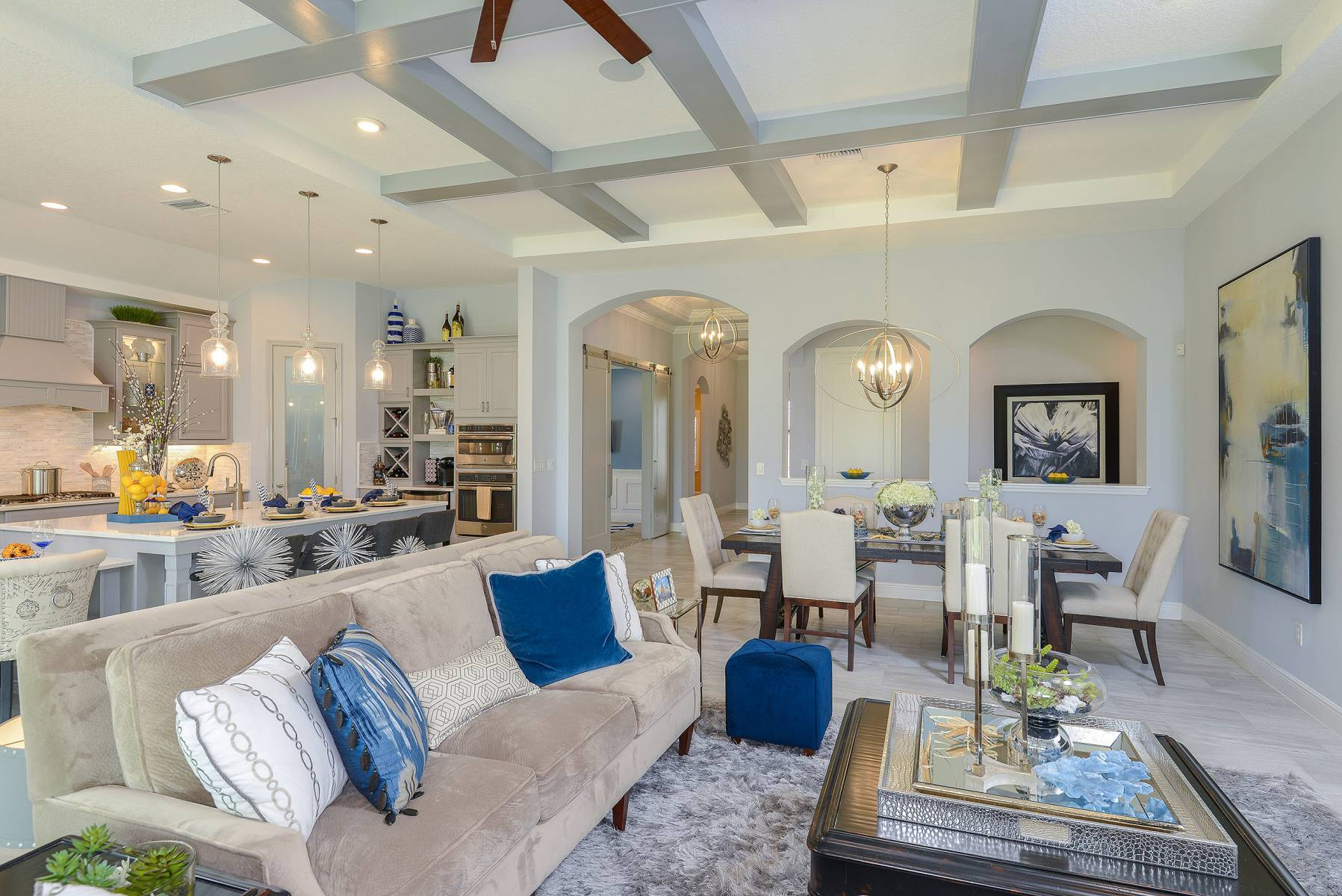 Living Area featured in the Bayshore I By Homes by WestBay in Tampa-St. Petersburg, FL