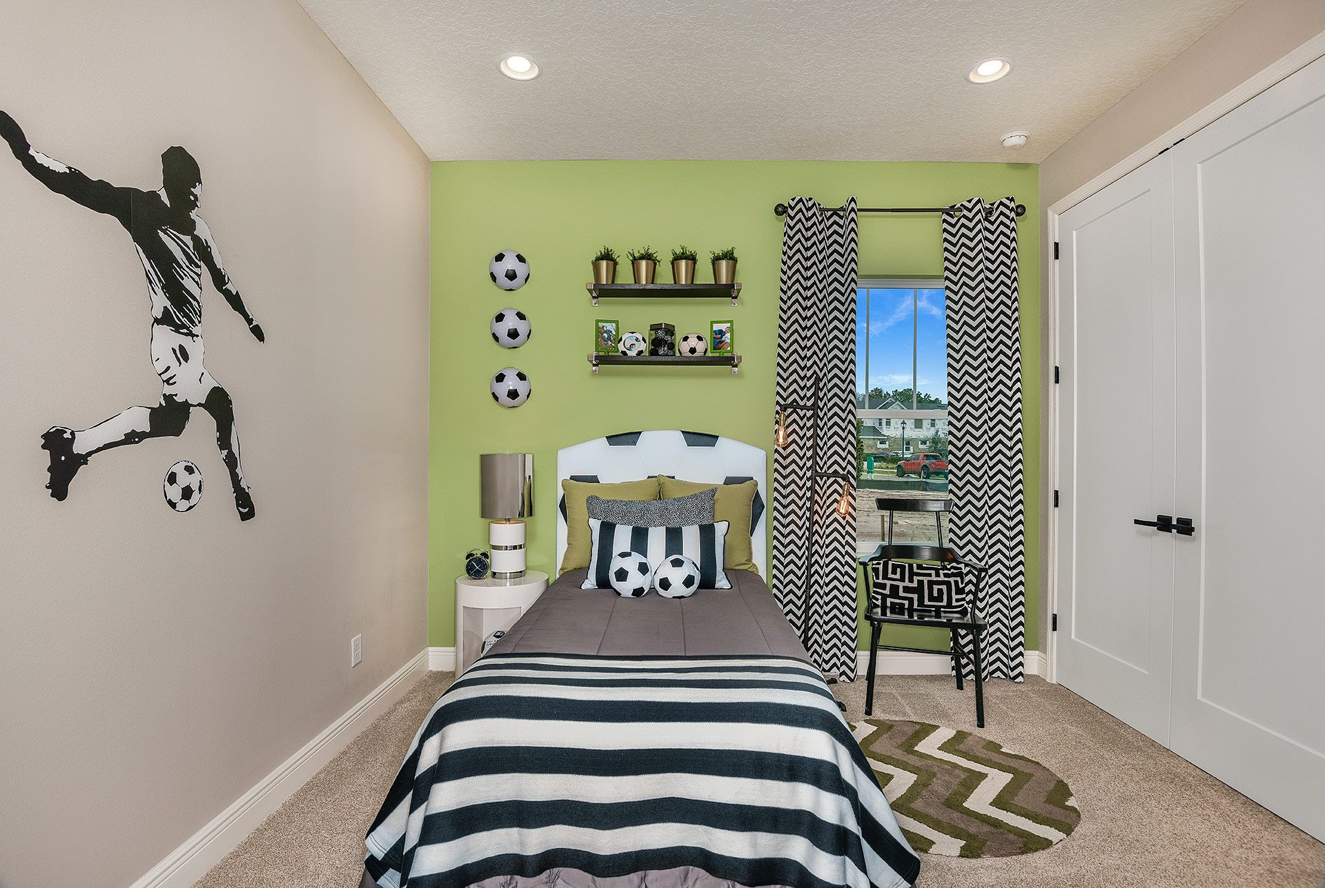Bedroom featured in the Bayshore II By Homes by WestBay in Tampa-St. Petersburg, FL