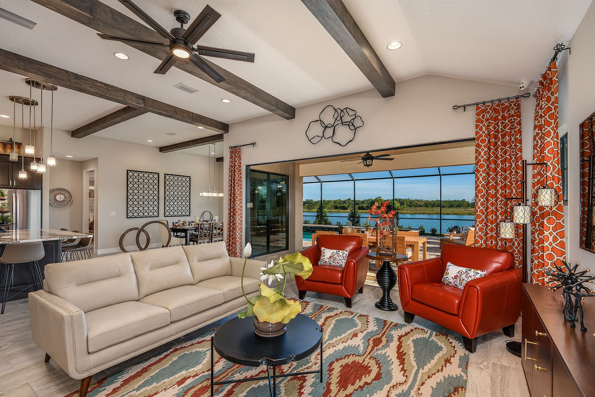 Living Area featured in the Swann IV By Homes by WestBay in Tampa-St. Petersburg, FL