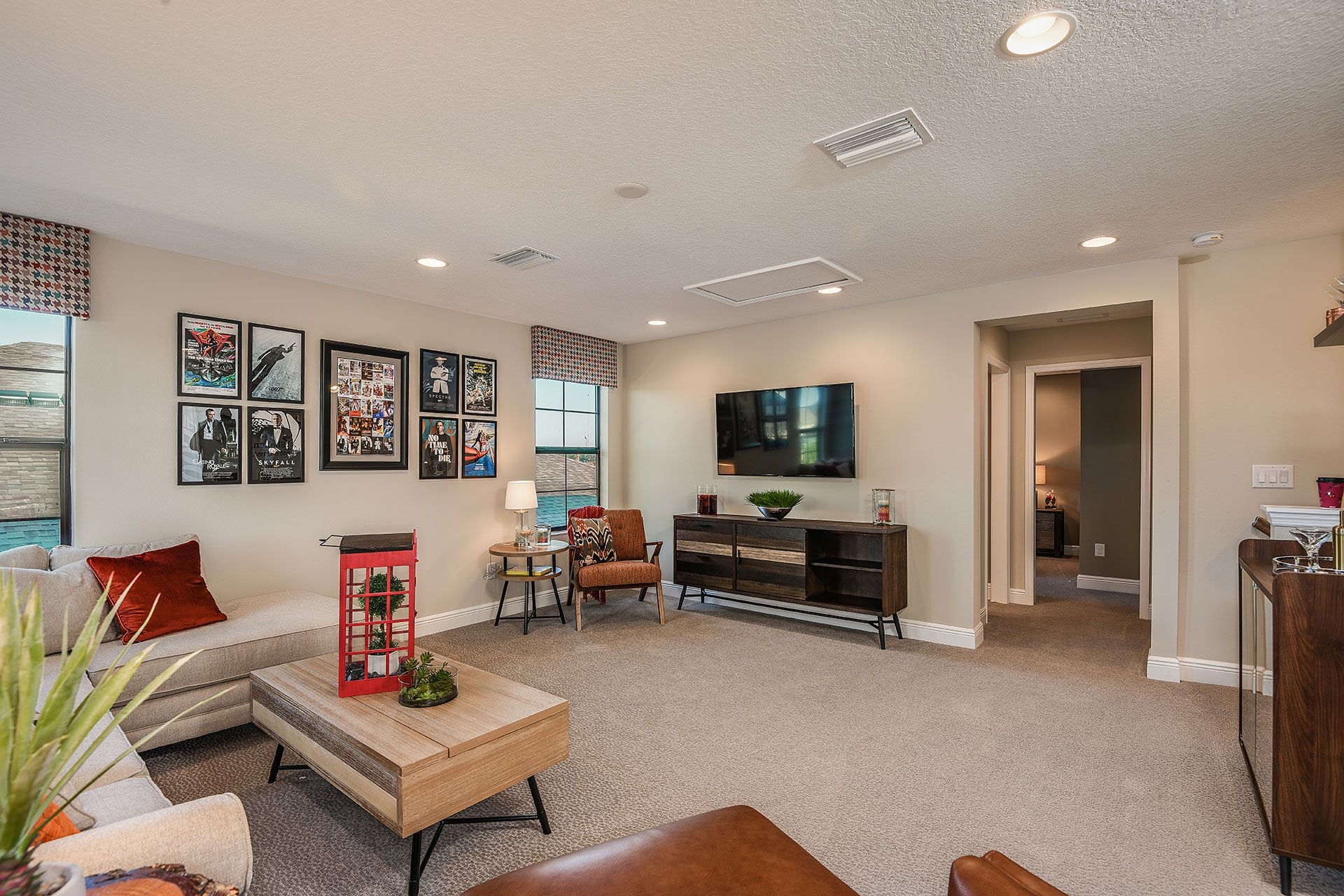 Living Area featured in the Swann IV By Homes by WestBay in Sarasota-Bradenton, FL