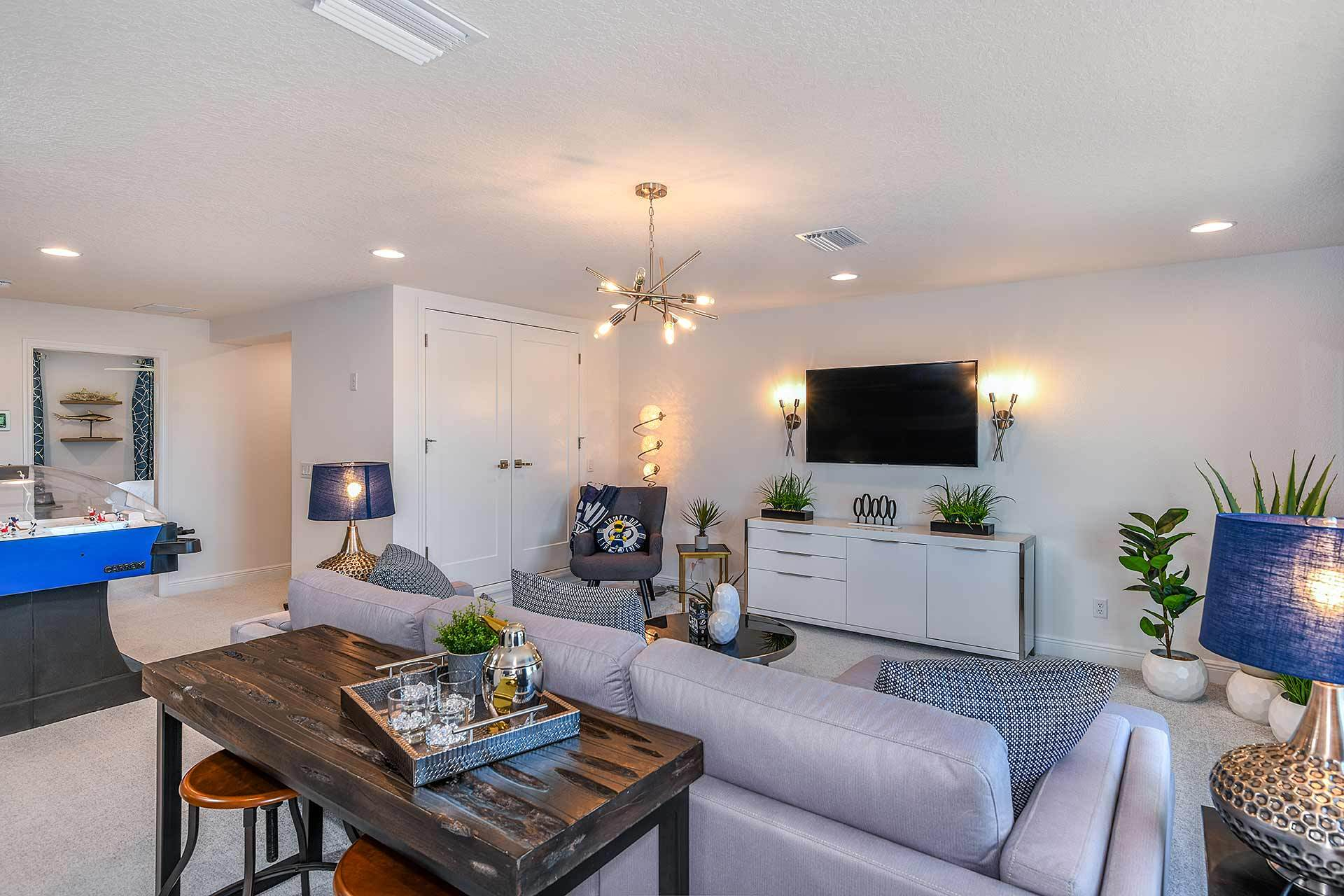 Living Area featured in the Virginia Park By Homes by WestBay in Tampa-St. Petersburg, FL