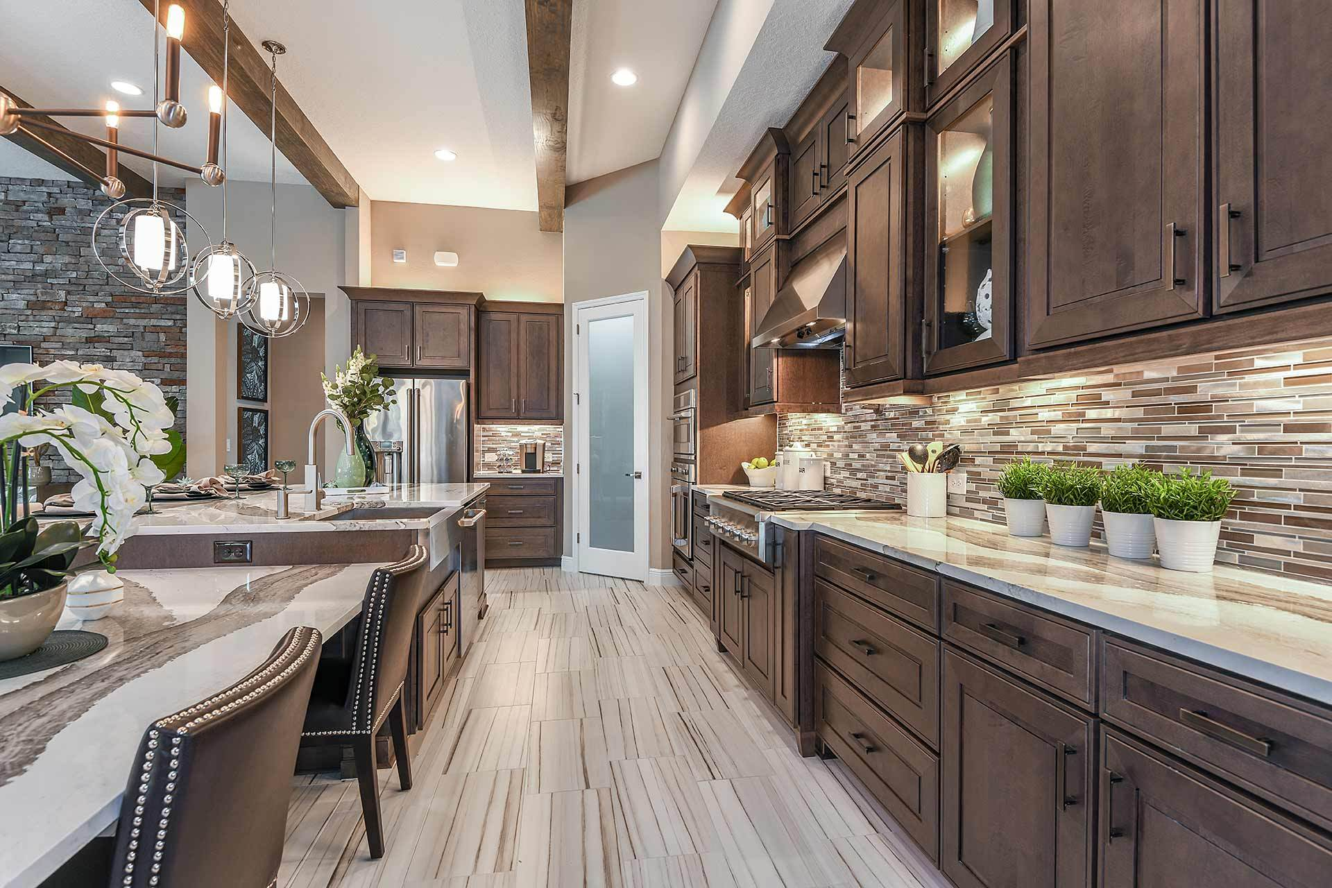 Kitchen featured in the Key West I By Homes by WestBay in Tampa-St. Petersburg, FL
