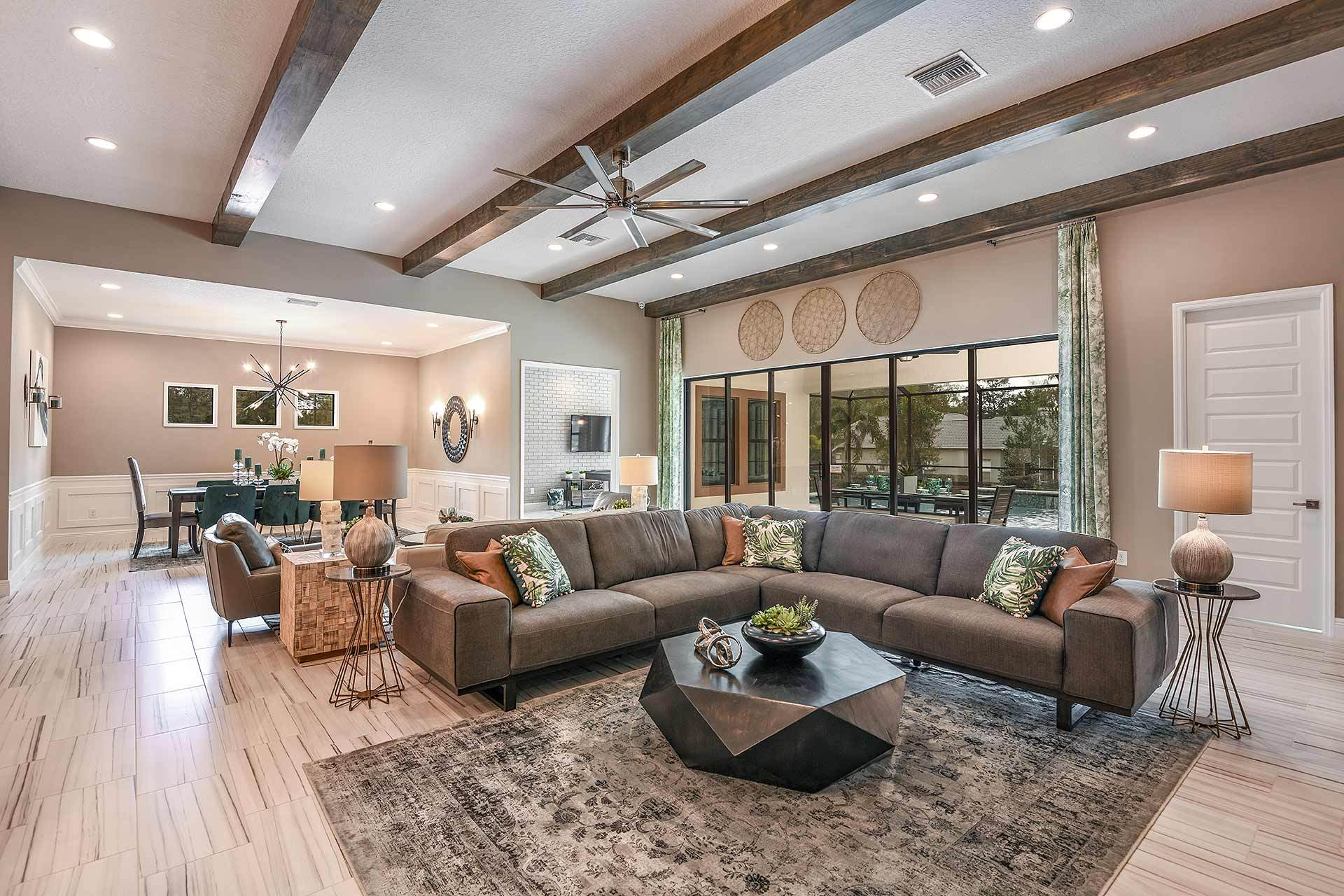 Living Area featured in the Key West By Homes by WestBay in Tampa-St. Petersburg, FL