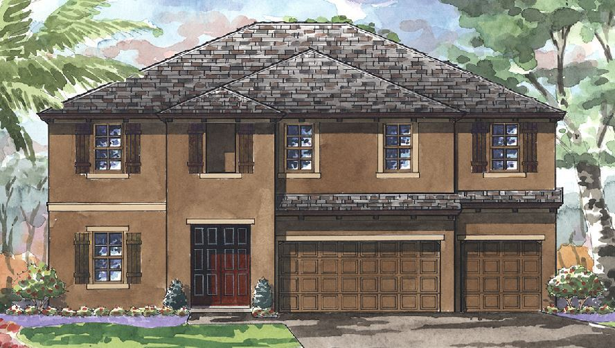 Exterior featured in the Virginia Park By Homes by WestBay in Tampa-St. Petersburg, FL