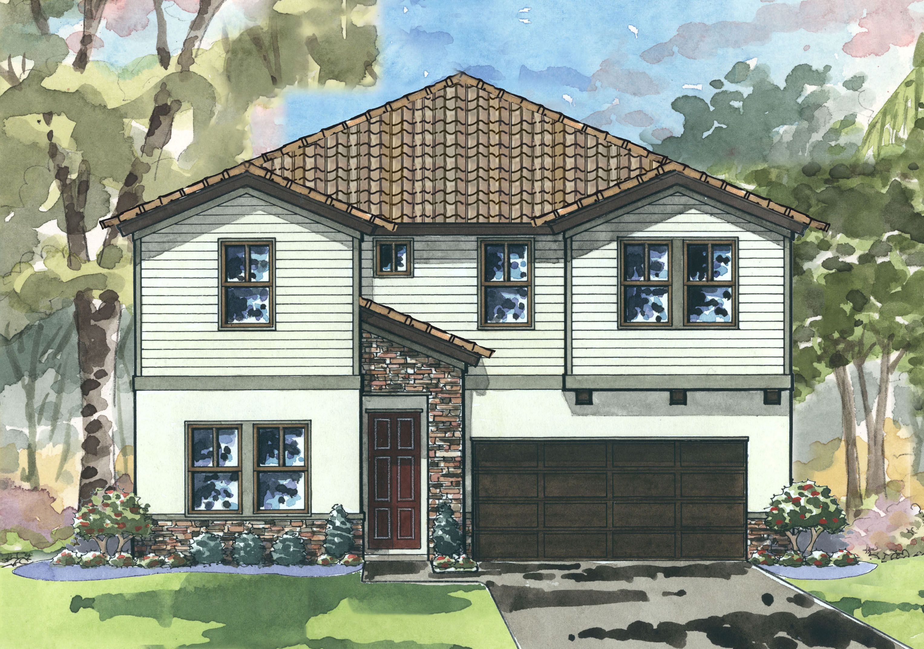Exterior featured in the Egret By Homes by WestBay in Tampa-St. Petersburg, FL