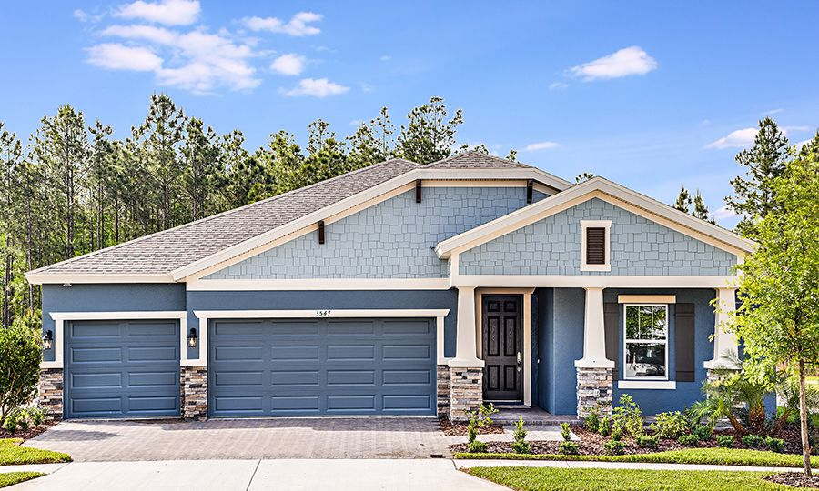 Exterior featured in the Hyde Park III By Homes by WestBay in Tampa-St. Petersburg, FL
