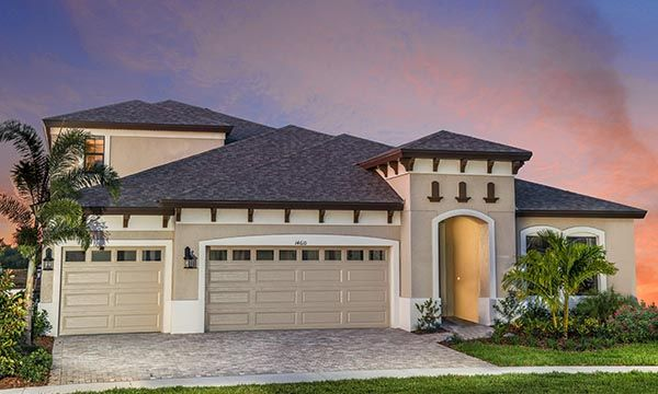 Exterior featured in the Swann IV By Homes by WestBay in Sarasota-Bradenton, FL