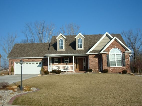Exterior featured in the Culver Plan By Homes By Emmons & Cress in St. Louis, IL