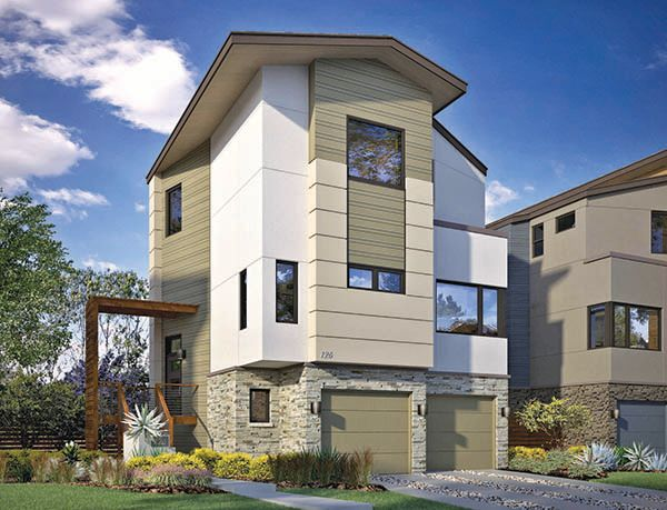 Exterior featured in The Cannon By Homes By AVI in Austin, TX