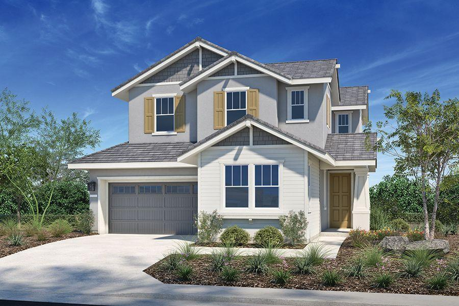 Exterior featured in the Plan Two By Homes By Towne in Sacramento, CA