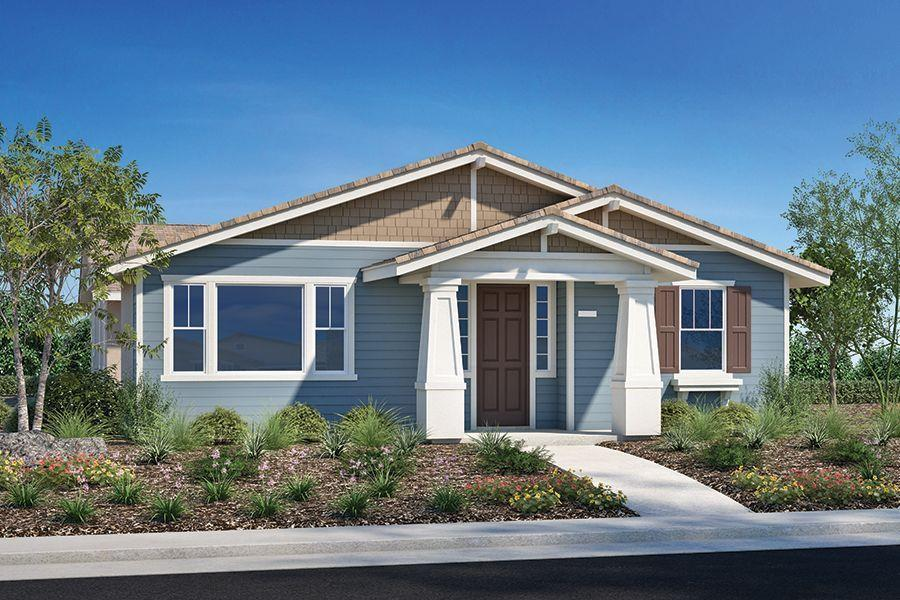 Exterior featured in the Plan Four By Homes By Towne in Sacramento, CA
