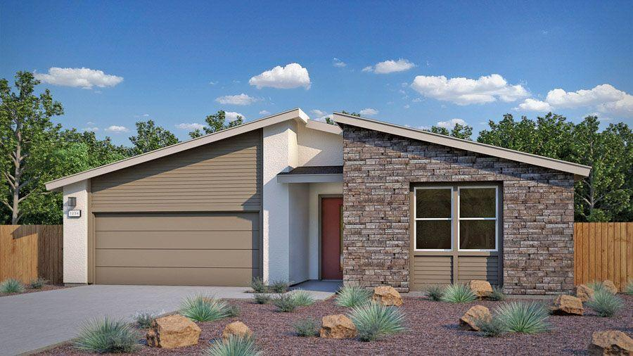 Exterior featured in the Plan One By Homes By Towne in Sacramento, CA