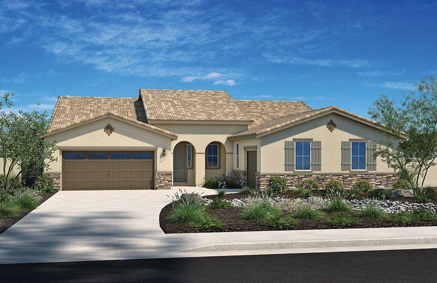 Exterior featured in the Plan Eight By Homes By Towne in Sacramento, CA