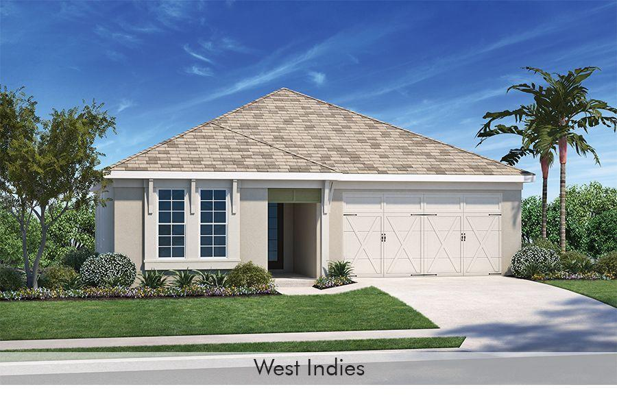 Exterior featured in the Dover By Homes by Towne - Florida in Sarasota-Bradenton, FL