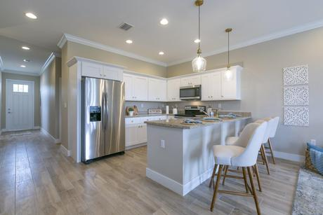 Kitchen-in-Model A-at-The Townhomes on Coconut Palm-in-Homestead