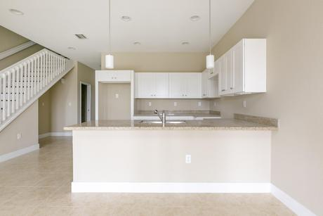 Kitchen-in-Model B-at-The Townhomes on Coconut Palm-in-Homestead