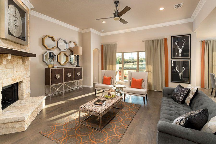 'Mountain Valley Lake' by Homes By Towne - TX in Fort Worth