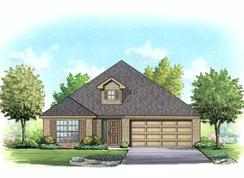 Kendall - Mountain Valley Lake: Burleson, Texas - Homes By Towne - TX