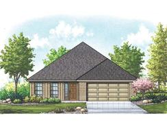 Liberty - Mountain Valley Lake: Burleson, Texas - Homes By Towne - TX